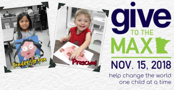 Give to the Max Website Header