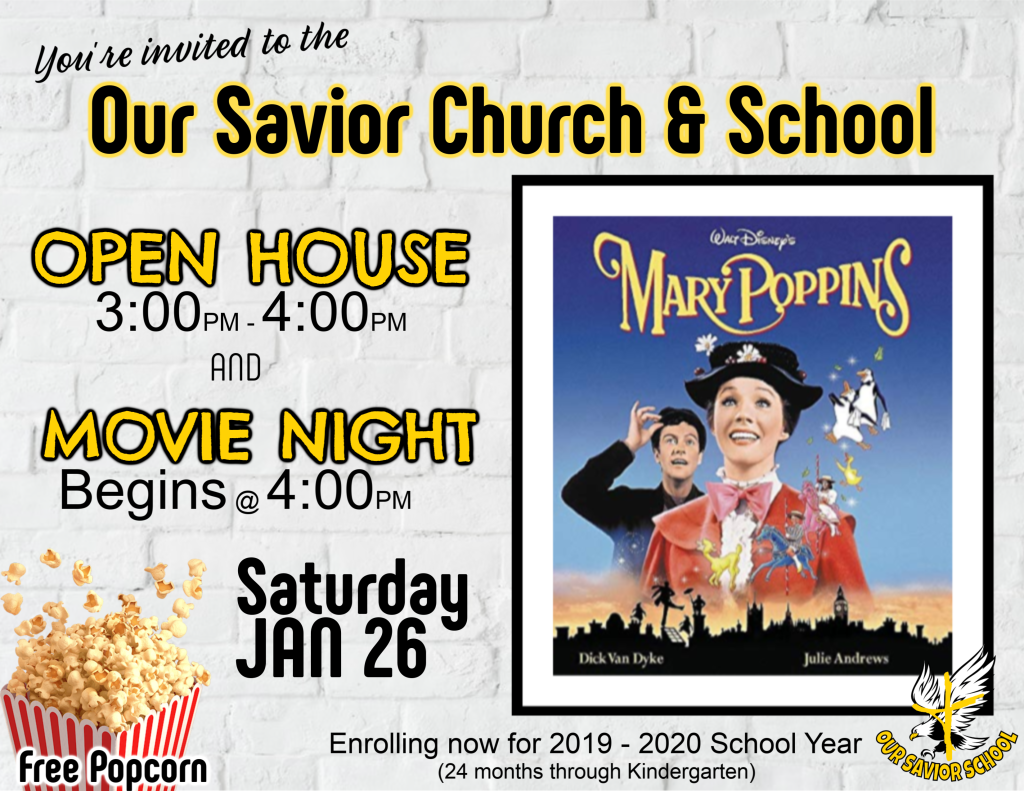 Open House Slide & movie night